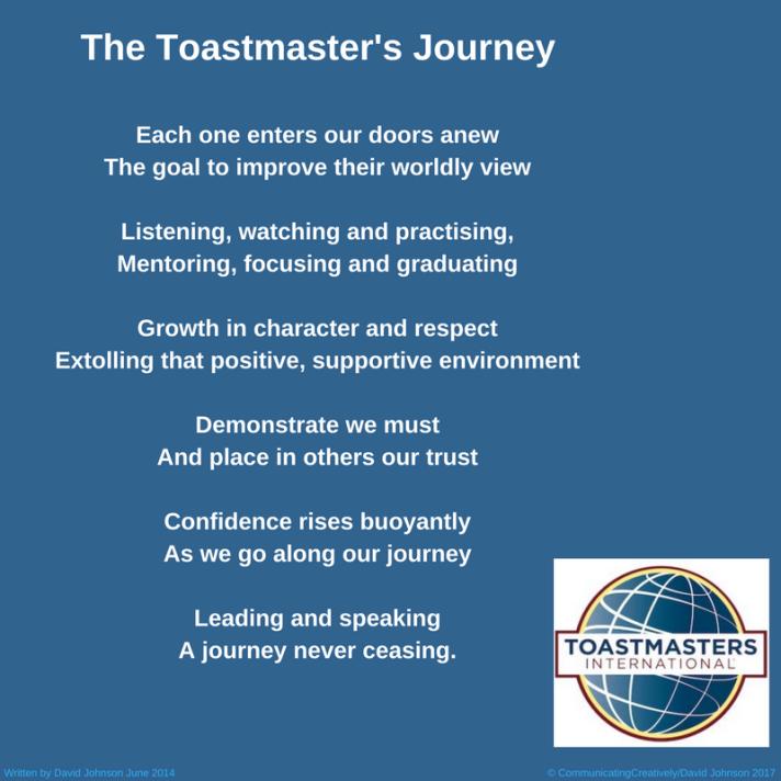 Toastmaster's Journey1